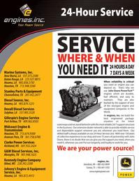 Marine News Magazine, page 2nd Cover,  Nov 2011