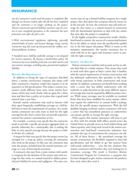 Marine News Magazine, page 28,  Nov 2011 insurance carrier