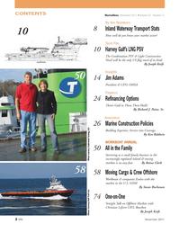 Marine News Magazine, page 2,  Nov 2011 Richard J. Paine , Sr.