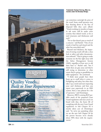 Marine News Magazine, page 54,  Nov 2011 Dominique