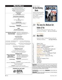 Marine News Magazine, page 4,  Nov 2011