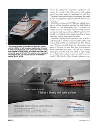 Marine News Magazine, page 60,  Nov 2011 Sea- Cor