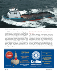 Marine News Magazine, page 62,  Nov 2011 Louisiana State University
