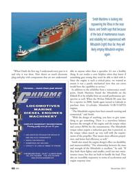 Marine News Magazine, page 66,  Nov 2011 MITSUBISHI