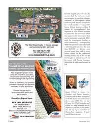 Marine News Magazine, page 72,  Nov 2011 license insurance