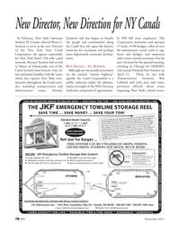 Marine News Magazine, page 78,  Nov 2011 Andrew M. Cuomo