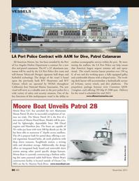 Marine News Magazine, page 86,  Nov 2011 Los Angeles Harbor Department