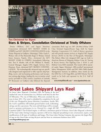 Marine News Magazine, page 88,  Nov 2011 Wisconsin
