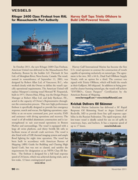 Marine News Magazine, page 90,  Nov 2011 Darren Hass