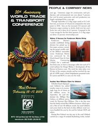 Marine News Magazine, page 96,  Nov 2011 United States