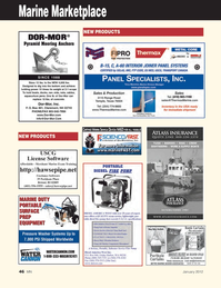 Marine News Magazine, page 46,  Jan 2012