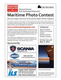 Marine News Magazine, page 3rd Cover,  Mar 2012