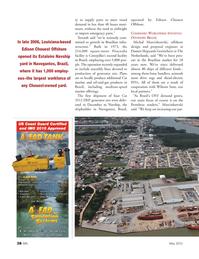 Marine News Magazine, page 38,  May 2012