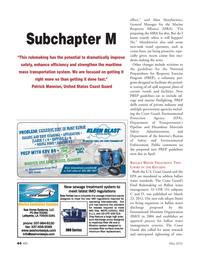 Marine News Magazine, page 44,  May 2012