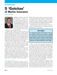 Marine News Magazine, page 20,  Aug 2, 2012
