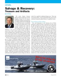 Marine News Magazine, page 22,  Aug 2, 2012