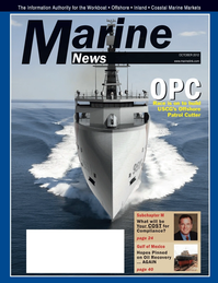 Marine News Magazine Cover Oct 2012 - Year in Review & Leadership
