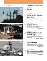 Marine News Magazine, page 2,  Oct 2012