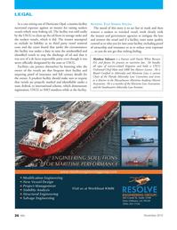 Marine News Magazine, page 26,  Nov 2012