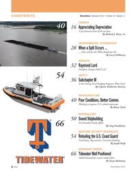 Marine News Magazine, page 2,  Nov 2012