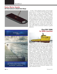 Marine News Magazine, page 10,  Feb 2013