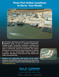 Marine News Magazine, page 2nd Cover,  Feb 2013