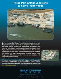 Marine News Magazine, page 2nd Cover,  Feb 2013