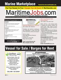 Marine News Magazine, page 44,  Feb 2013