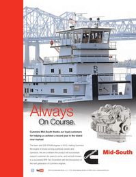 Marine News Magazine, page 3rd Cover,  Feb 2013