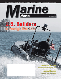 Marine News Magazine Cover Mar 2013 - Shipyard Report: Construction & Repair