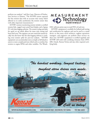 Marine News Magazine, page 16,  Mar 2013 rental device