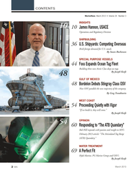 Marine News Magazine, page 2,  Mar 2013 Susan Buchanan