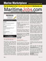 Marine News Magazine, page 76,  Mar 2013 Mary Wells