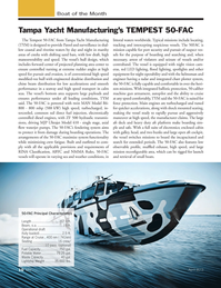 Marine News Magazine, page 10,  Apr 2013 Tampa Yacht Manufacturing