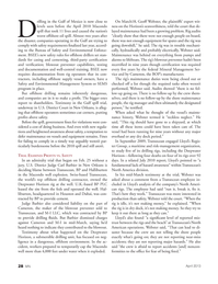 Marine News Magazine, page 28,  Apr 2013 Gulf of Mexico