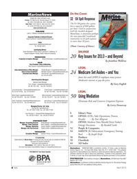 Marine News Magazine, page 4,  Apr 2013
