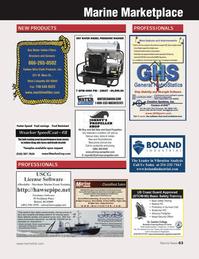 Marine News Magazine, page 63,  Apr 2013 Harbor Call