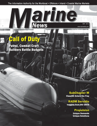 Marine News Magazine Cover May 2013 - Combat & Patrol Craft Annual