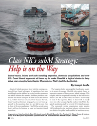 Marine News Magazine, page 22,  May 2013