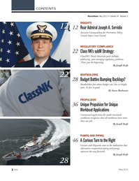 Marine News Magazine, page 2,  May 2013