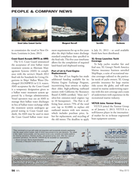 Marine News Magazine, page 56,  May 2013