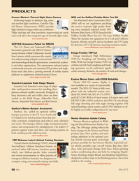 Marine News Magazine, page 58,  May 2013