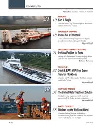 Marine News Magazine, page 2,  Jun 2013