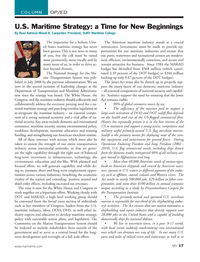 Marine News Magazine, page 17,  Jul 2013 Transportation Institute