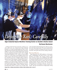 Marine News Magazine, page 24,  Jul 2013 Oregon