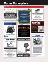 Marine News Magazine, page 46,  Jul 2013 Port of Mobile