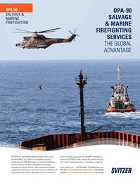 Marine News Magazine, page 2nd Cover,  Aug 2013