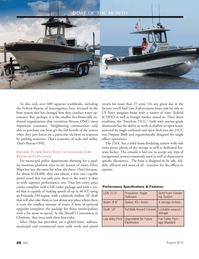 Marine News Magazine, page 46,  Aug 2013 AFFORDABLE LAW ENFORCEMENT PLATFORM For municipal police