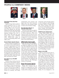 Marine News Magazine, page 50,  Aug 2013 North East Canada
