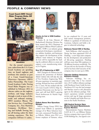 Marine News Magazine, page 52,  Aug 2013 R. de Cuir